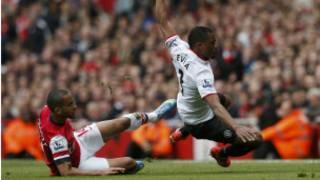 Arsenal da manchester United