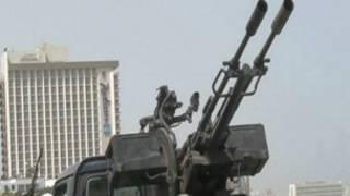مسلحون يحاصرون مقر وزارة الخارجية