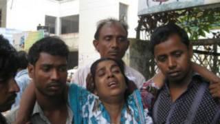 Daya daga cikin wadanda ruftawar ginin ta rutsa da su a Bangladesh