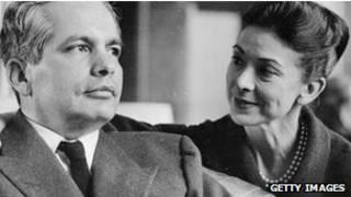Fonteyn e o marido Ricardo Arias (foto: Getty Images)