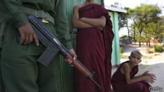 Violencia sectaria en Birmania