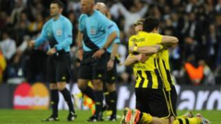 Borussia Dortmund da Real Madrid