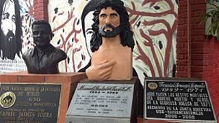Monumento a sindicalistas muertos en Barrancabermeja, Colombia