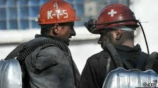 Российские шахтеры (архивное фото)