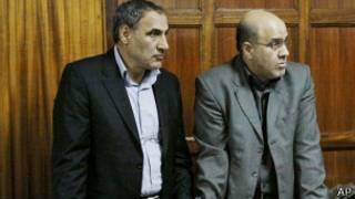 متهمان در دادگاه