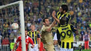 Fenerbahçe'nin Benfica'ya attığı gol