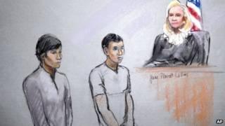 متهمان بالتواطؤ في تفجيري بوسطن