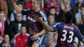 Sunderland equalizes against Stoke