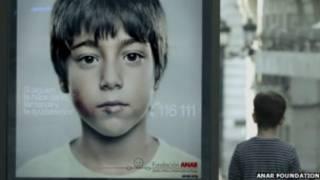 campanha contra abuso infantil (foto: Anar Foundation)