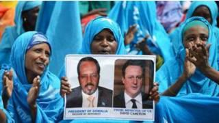Taron kasa da kasa a kan Somalia