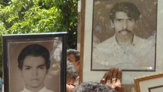 pictures of the disappeared from Matale in late 80s