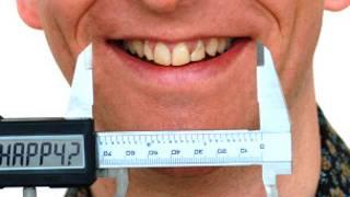 Sonrisa medida con un micrómetro