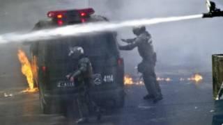 تشيلي، تظاهرات