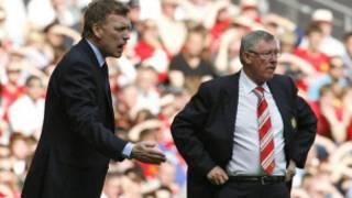 David Moyes da Sir Alex Ferguson