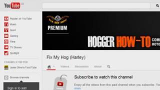 Канал Fix My Hog Premium на YouTube