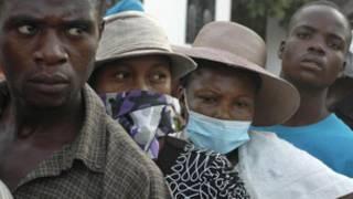 Wasu mutane 'yan kasar Haiti