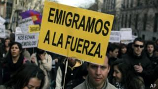 Manifestación de inmigrantes