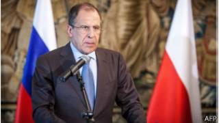 وزير الخاريجة الروسي سيرغي لافروف