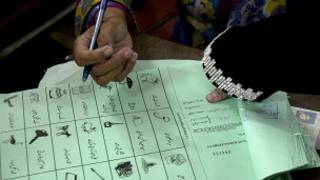 पाकिस्तान में मतदान