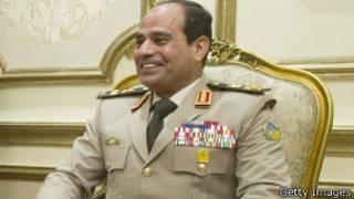 Abdel-Fattah el-Sisi yatsinze amatora mu Misiri