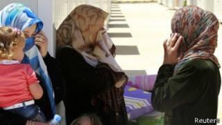 Refugiadas sírias (Reuters)