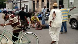 После стрельбы на параде в Новом Орлеане