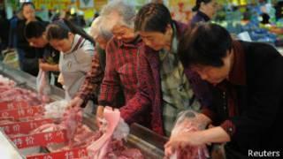 Китайцы выбирают мясо