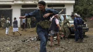 تحطم طائرة في اليمن