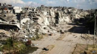 Videodaki isyancının Humus kentinden olduğu söyleniyor