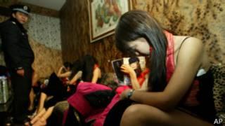 Prostitutas en China