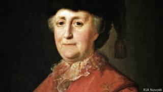 Екатерина II (портрет кисти Михаила Шибанова)