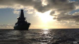 HMS Dauntless (foto: BBC)
