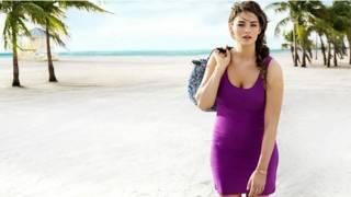 Imagem da campanha da H&M com a modelo Jennie Runk (imagem: cortesia H&M)