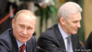 Владимир Путин и Андрей Фурсенко