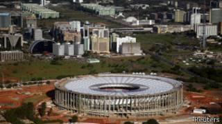 Estádio Mané Garrincha / Reuters