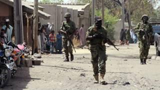 جنود نيجيريون
