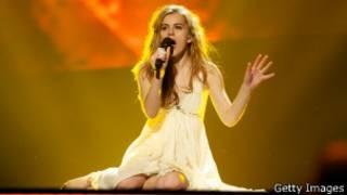 "Эммили де Форест, певица из Дании на конкурсе ""Евровидение-2013"""