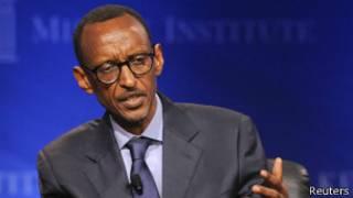 Shugaba Kagame na Rwanda
