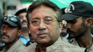 Tsohon shugaban Pakistan Pervez Musharraf