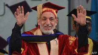अफ़ग़ान राष्ट्रपति हामिद करज़ई