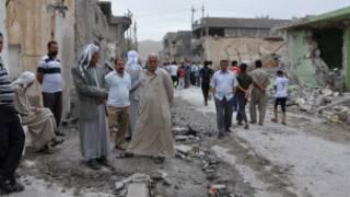 Bomb attacks in Iraq