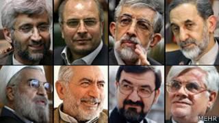 نامزدهای تأیید صلاحیت شده انتخابات ریاست جمهوری ایران