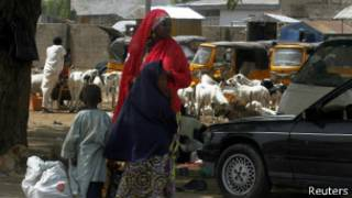 صورة من الأرشيف عن نيجيريا