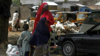 Birnin Maiduguri na jihar Borno a Najeriya