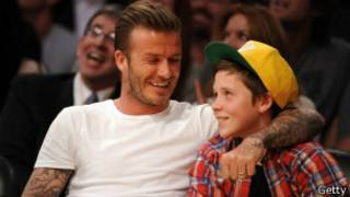 貝克漢姆與兒子