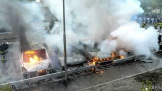 Беспорядки перекинулись на другие шведские города
