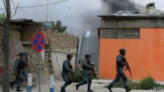 قوات أمنية أفغانية