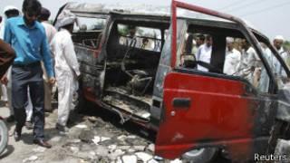 Согласно сообщениям, водитель сбежал с места происшествия