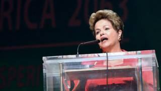 巴西总统罗塞夫(25/5/2013)