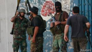 شبه نظامیان سنی در طرابلس